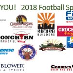 Thank You 2018 Football Sponsors!