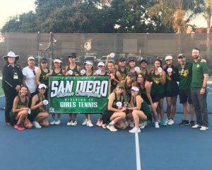 Girls Tennis CIF Champions!