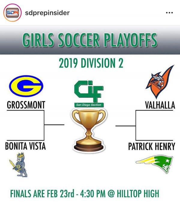 Girls Soccer host Semi-Finals on Wednesday!