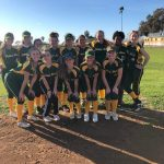 Softball 'weather the storm' defeat HTH 6-2!