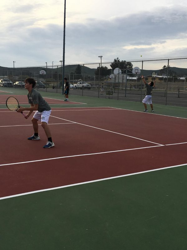 Boys Tennis loses close match at Cathedral