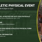 Athletic Physical Event on June 5