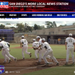 Baseball on KUSI as they host first home game