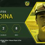 M. Medina U-T Prep Player of the Week!