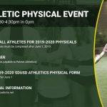 Athletics Physical Event June 5