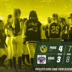 Patmon gets key hit to move Patriots back to first!