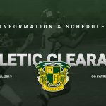 Fall 2019 Athletics Clearance Information