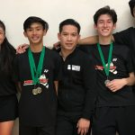 Union-Tribune Celebrate Badminton Champions!