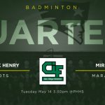 Badminton hosts Quarter-Final CIF on Tuesday