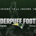 Powderpuff Football this Friday night!