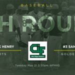 Baseball hosts CIF 4th round Tuesday!