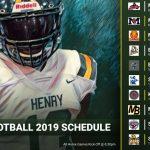 2019 Football Schedule!