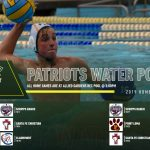 2019 Boys Waterpolo Schedule!