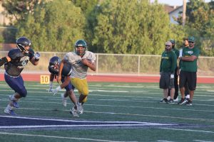 Football Scrimmage vs ORHS and Madison HS