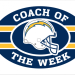 Coach O'Sullivan Named Chargers Coach of the Week!