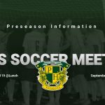 Boys Soccer Info Meeting