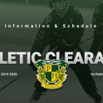 2019-2020 Winter Athletic Clearance Information