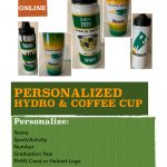 Personalized Hydro or Coffee Cup