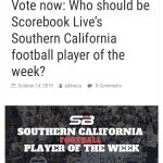 Vote for M. Castillo and K. Jessie for SoCal Player of the Week!