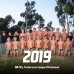 Boys Water Polo 2019 Eastern League Champions!
