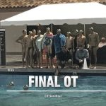 Waterpolo wins thrilling game in OT to earn spot in final!