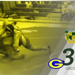 Wrestling drops close match at home