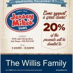 Fundraiser for Patriot Athletics Family