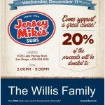 Fundraiser for Patriot Athletics Family