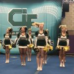Cheer finishes 3rd in CIF Championships!