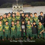 Men's Soccer Wins Second Trophy!