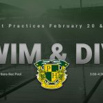 **UPDATE** Swim and Dive Starts February 20