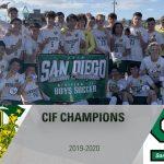 Men's Soccer Wins CIF Championship In OT Thriller!