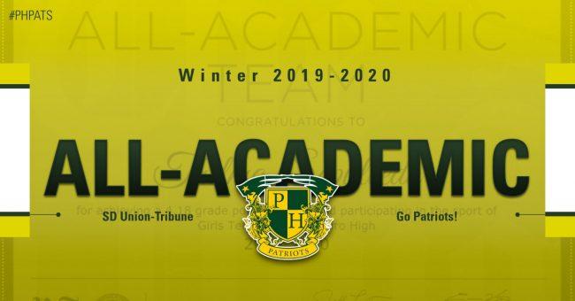 Union-Tribune Winter All-Academic Team