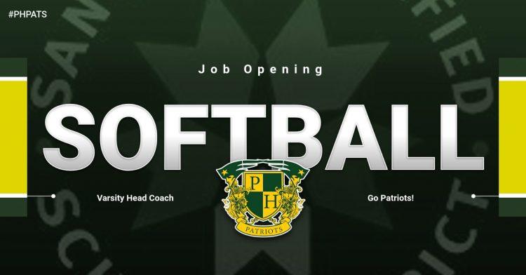 Job Opening: Head Coach Softball