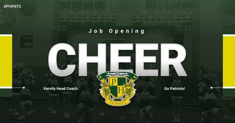 Job Opening: Head Coach Cheer