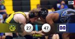 Wrestling Drops First Dual of Season in Close Match