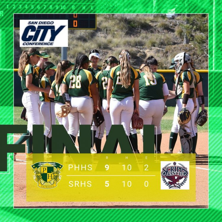 5-Run Fourth Key Inning in Softball Win Over Falcons
