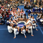 Lady Cavers hit the mat! First performance of the 2018-2019 competition season!