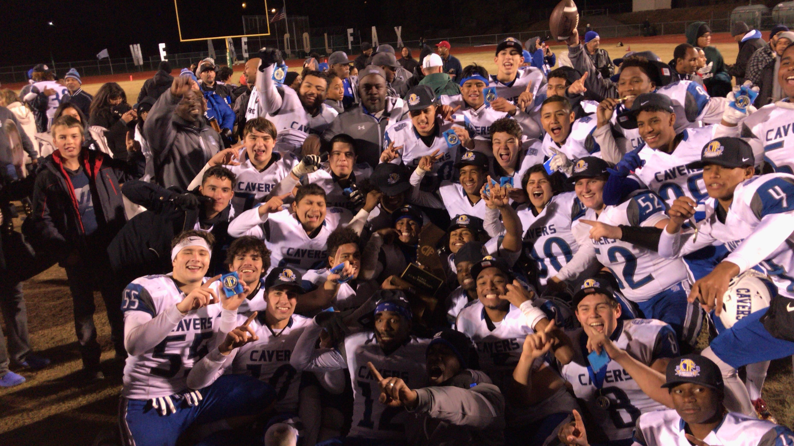 SDHS Caver Football team is the new Division 5-A State Champions