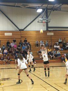 Girls Volleyball Win