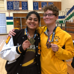 Serra Wrestler, Paulina Jimenez, takes First Place