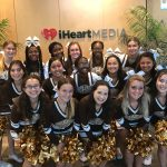 Serra Cheer at JAMN 95.7