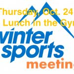 Winter Sports Meeting Thursday Oct. 24