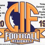 CIF STATE REGIONALS