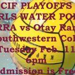 CIF PLAYOFFS: GIRLS WATER POLO