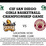 Girls Basketball are in the CIF Championship Game!