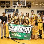 Serra Vs. Mission Hills Girls Basketball Section Champs action photos by Thom Vollenweider