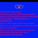 Athlete Challenge
