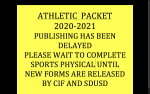 ATHLETIC PACKET PUBLISHING DELAY