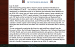 CIF STATE UPDATE JULY 20, 2020